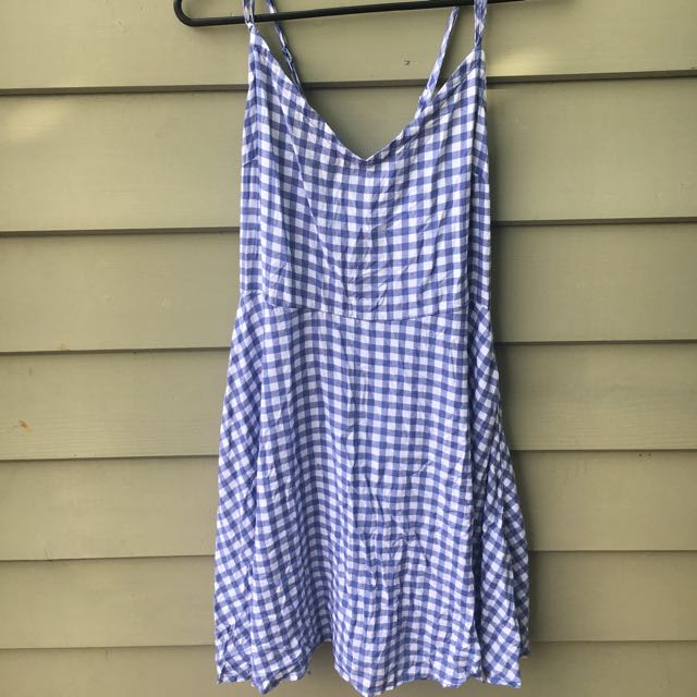 Cotton On Light Blue Tarten Mini Dress