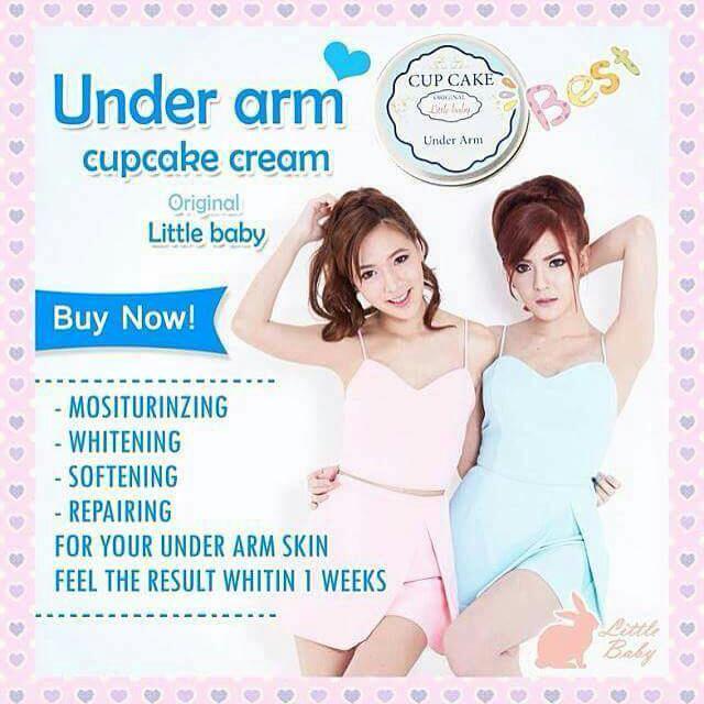 Cupcake Underarm Cream