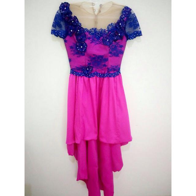 Custom High Low Party Dress