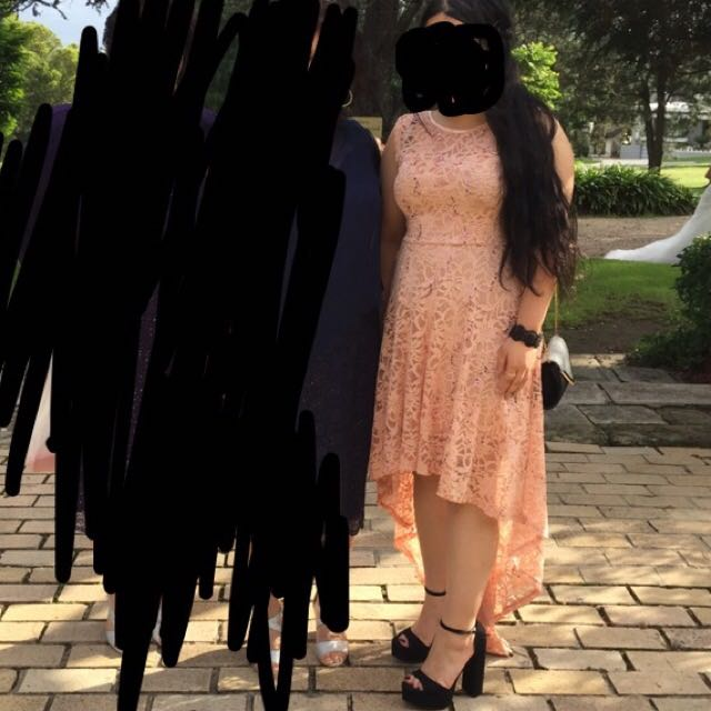 Dress- pinkish nude formal/party dress
