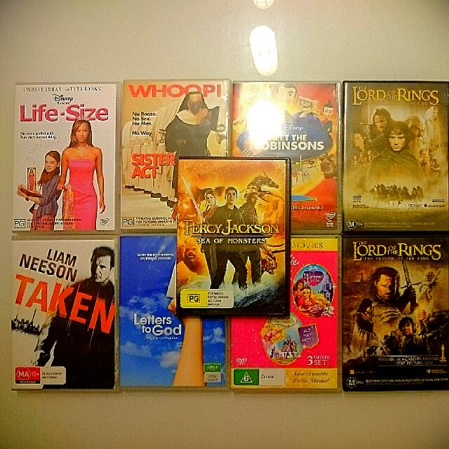 DVD Movies (9 Movies) ORIGINAL