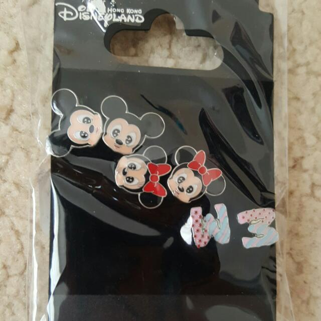 Earrings from HK Disneyland