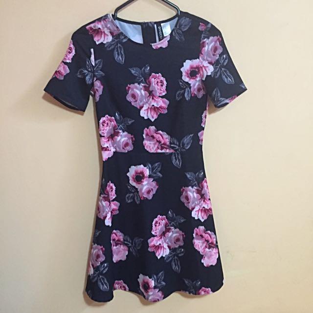 Floral Dress (h&m)