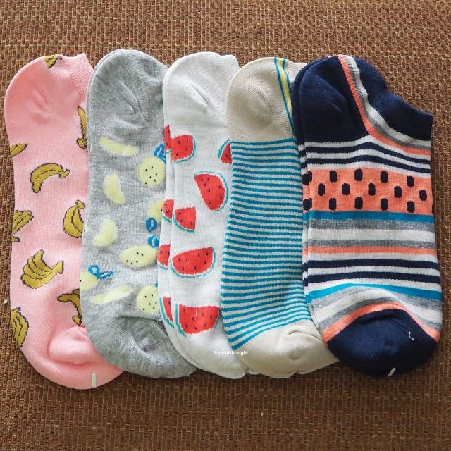 [FREENM][INSTOCK] BN Ladies' Tutti Frutti Ankle Socks