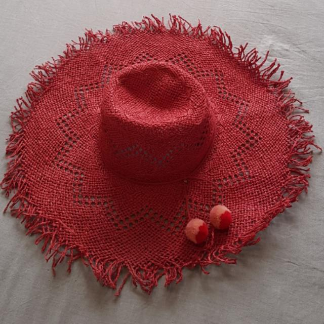 French Connection Summer Straw Hat
