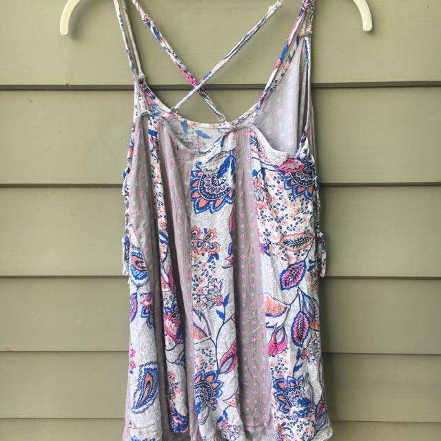 Glassons Playsuit Flowy Festival Floral