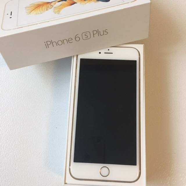 Gold iPhone 6s Plus / Unlocked