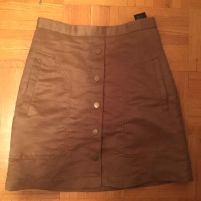 H&M Size 2 Suede Skirt