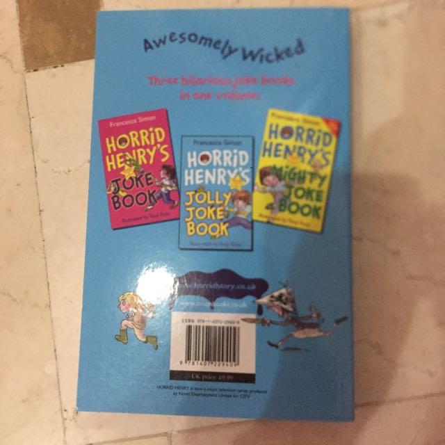 Horrid Henry's Favorite Jokes Book