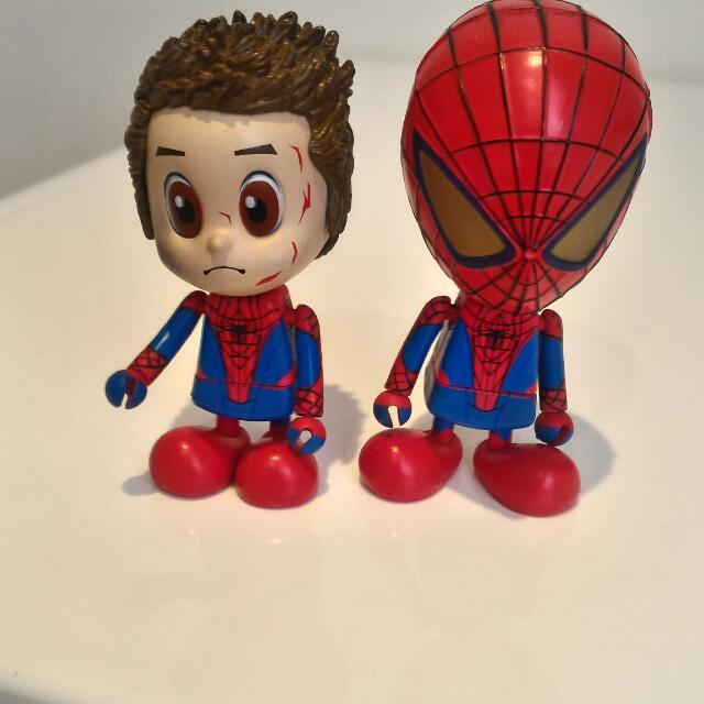 Hot toys受傷版蜘蛛人公仔