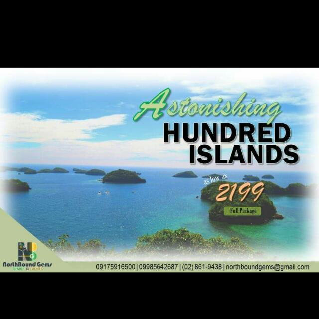 Hundred Islands with Sidetrip Bolinao