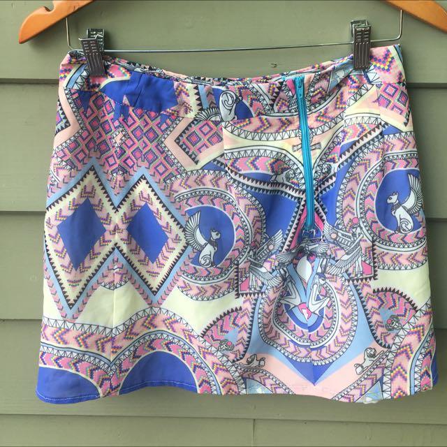 Indikah Festival Mini Skirt