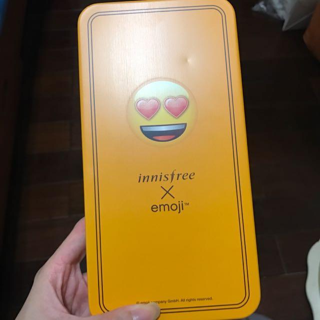 Innisfree聯名emoji新品手拿鏡