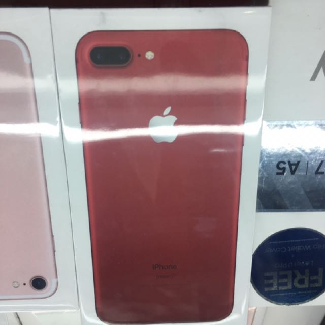 Iphone 7 And 7 Plus RED