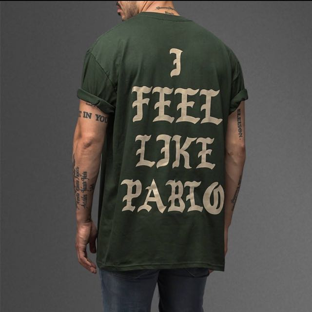 Kanye West I feel Like Pablo  T- Shirt