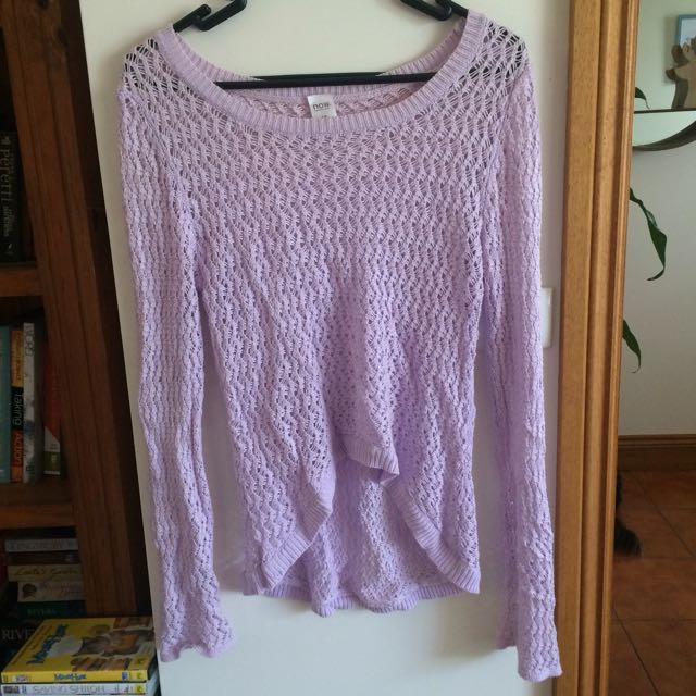 Knitted Purple Top