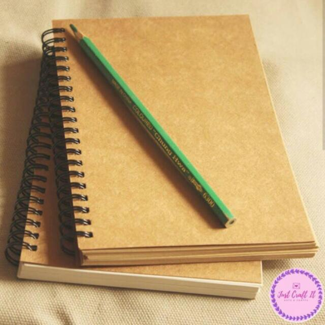Craft notebooks