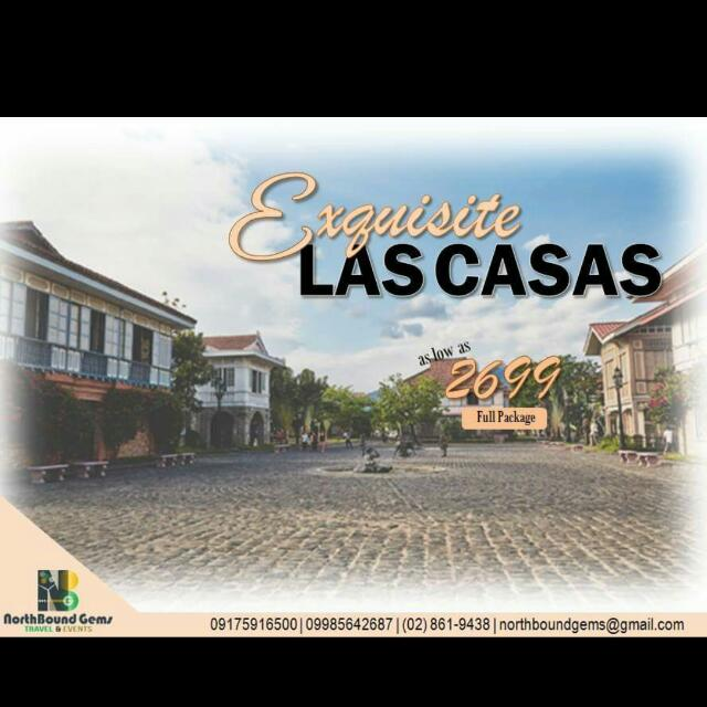 Las Casas Tour Package