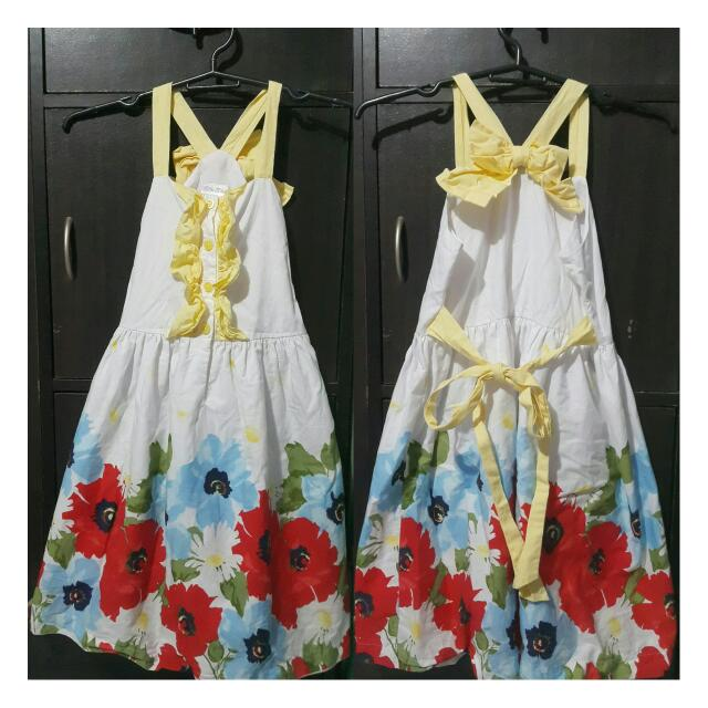 Little Miss Floral Dress