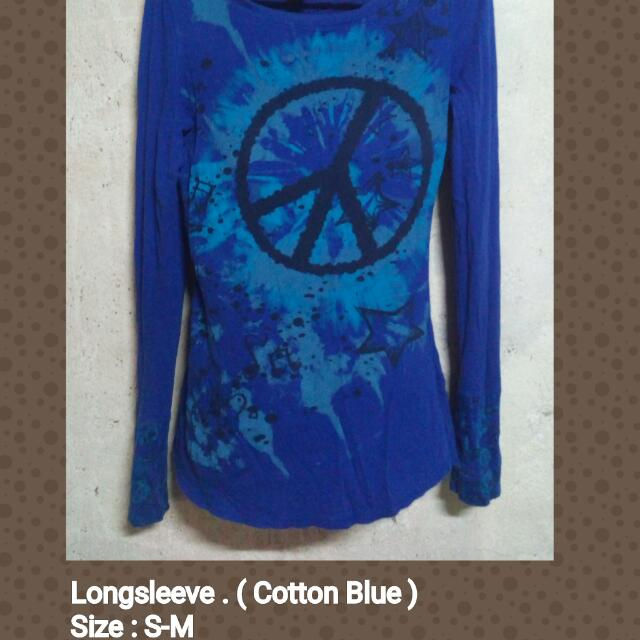 Longsleeve Blue