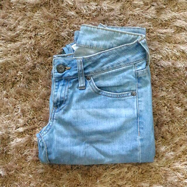 Mango Faded Jeans