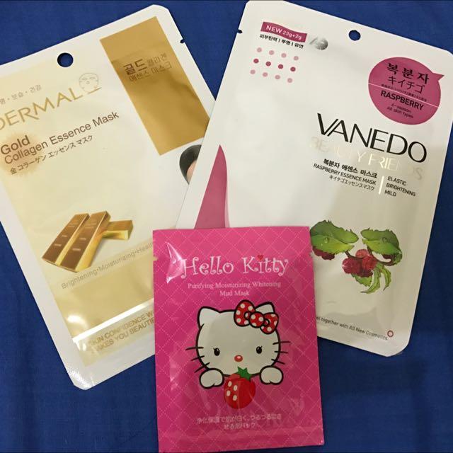 Masker Gold & Masker Vanedo Japan