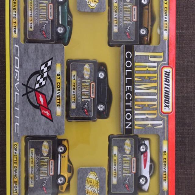 Matchbox Collectible Corvettes