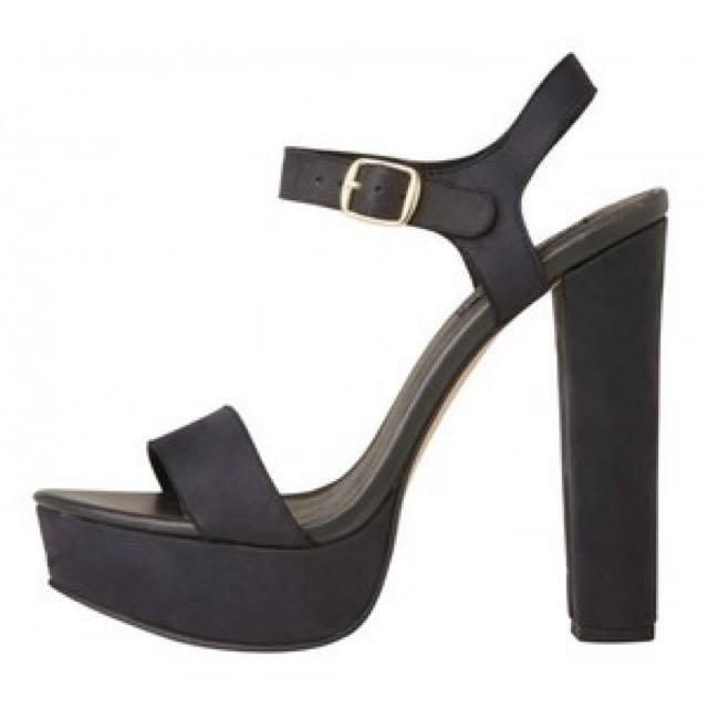 Melodie Black Heels - Windsor Smith