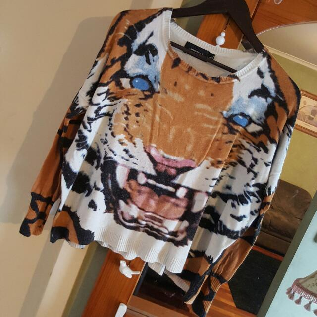 Mink Pink Tiger Jumper Size Large