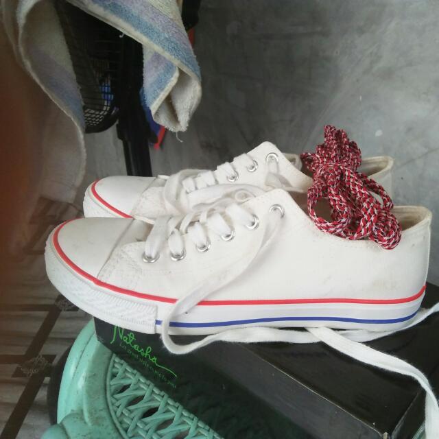 natasha white shoes w/free liston