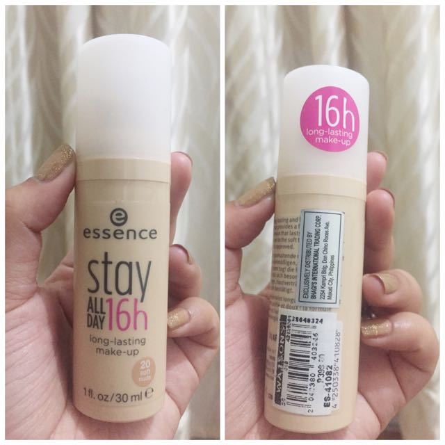 Essence Stay All Day 16h Makeup