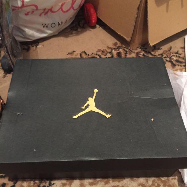 Nike, Jordan Wing It's Black And White