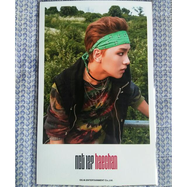 [Official PC] NCT NCT#127 4X6 Photo (Haechan)