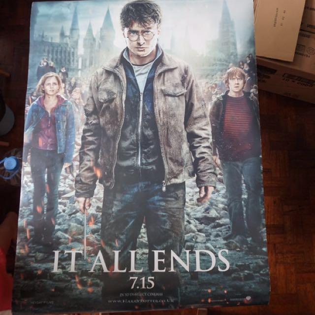 Original Harry Potter Poster