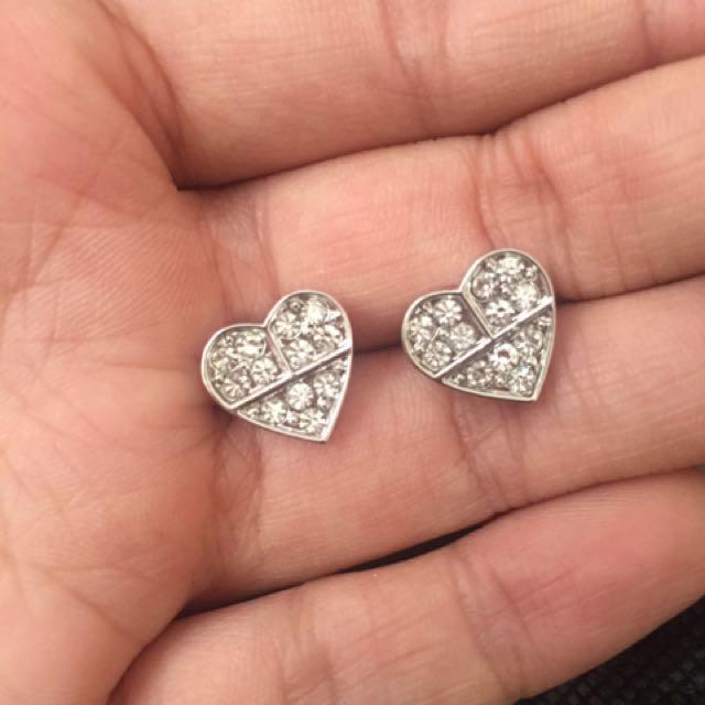 Oroton Heart Earrings