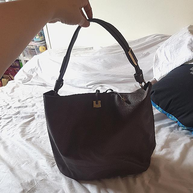 Parfois Brown Tote Bag