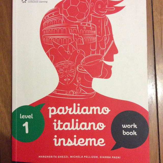 Parliamo Italiano Insieme Workbook 1