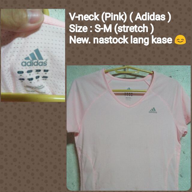 Pink V neck