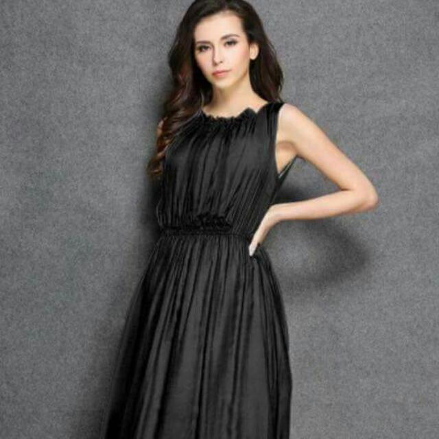 Plain Long Dress