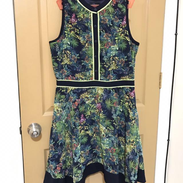 Plains & Prints Floral Dress