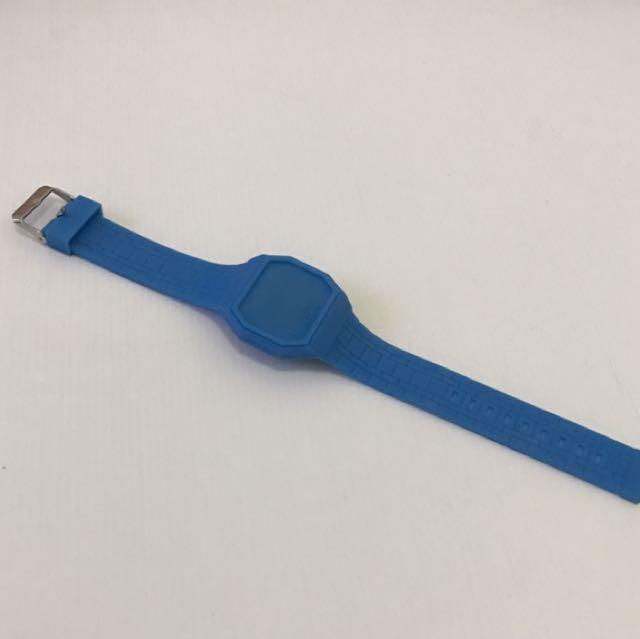 Rubber Watch / Jam Rubber / Jam Tangan - Blue