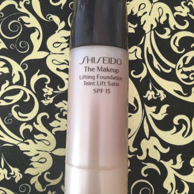 Shiseido lifting foundation