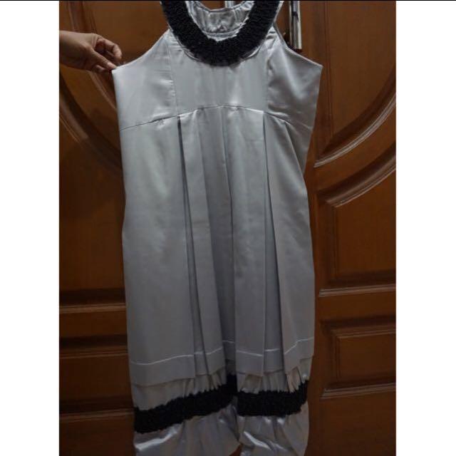 Silver Baloon Dress