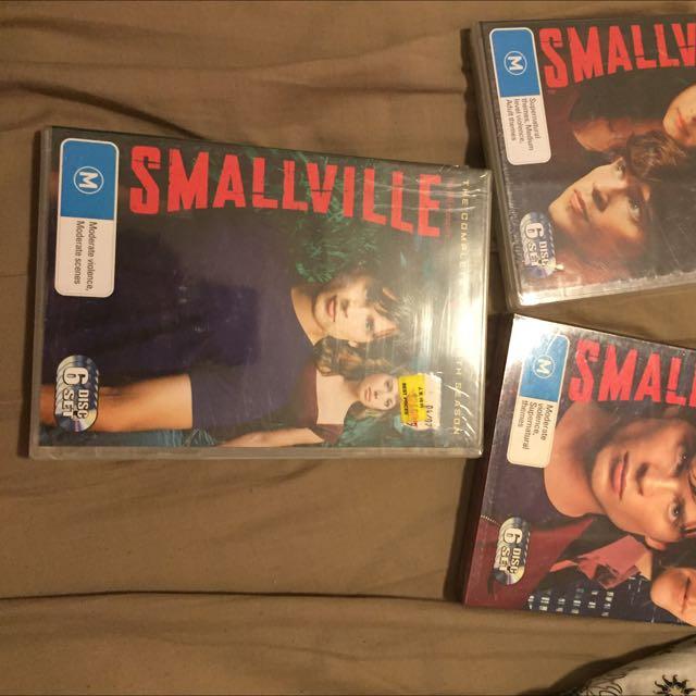 Smallville Complete Third, Fourth, Fifth Season