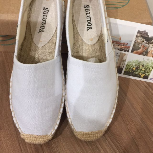 Soludos 休閒風帆布鞋 全新 五號