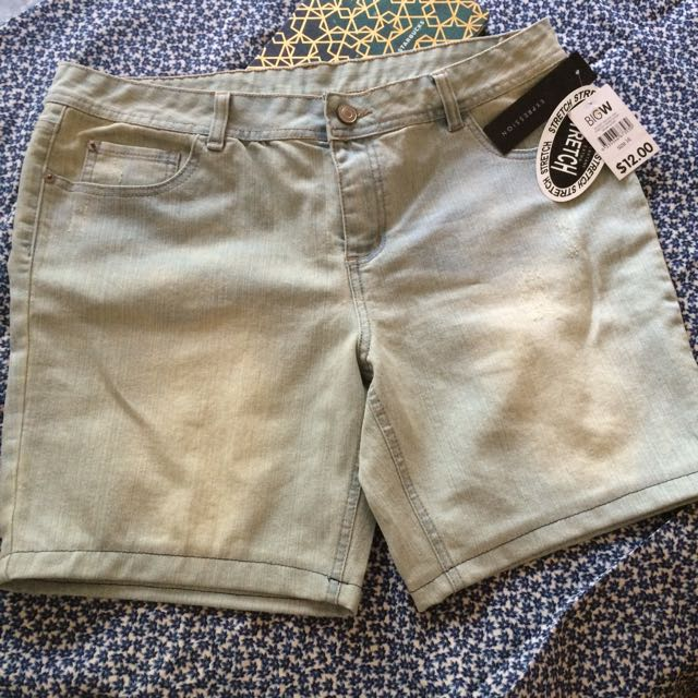 Stretch Denim Shorts from BIG W