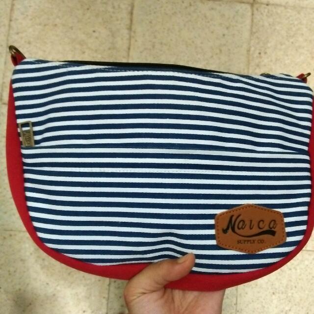 Strip Sling Bag