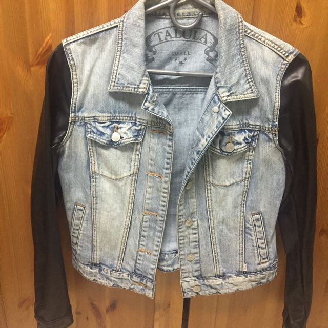 Talula Denim & Leather jacket