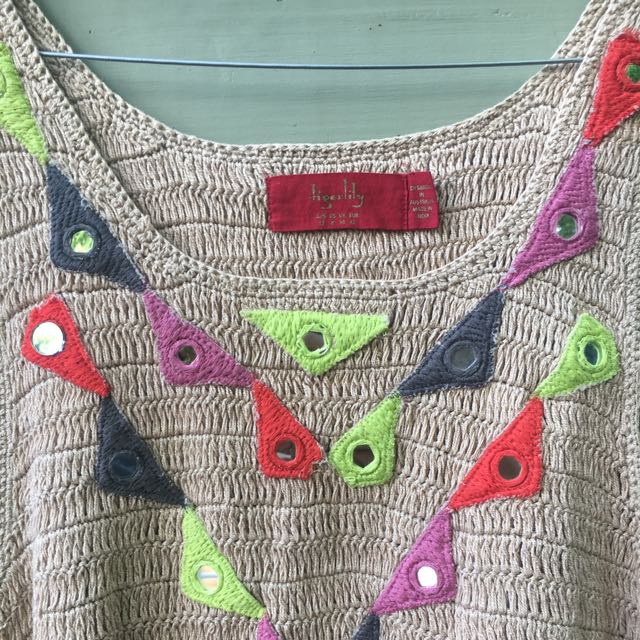 Tigerlily Knitted Crochet Top