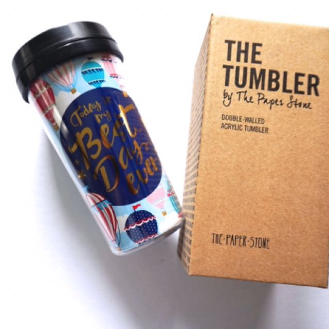Tumbler by the Paper Stone